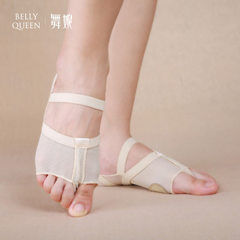 The body foot covers the belly dance fitness practice the shoe belly dance practice the shoe belly d black S / 34 ~ 35 yards