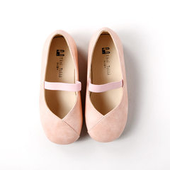 Children`s shoes spring and summer new girl single shoes sweet princess shoes children`s shoes baby  pink 24