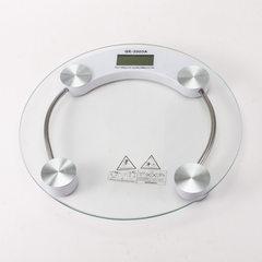 2003A精准电子称 家用体重秤电子秤健康秤 26cm 人体秤 厂家直销 白色(彩盒包装)