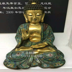 Factory direct sale Buddha statue of copper Buddha gilt Buddha of fine arts and crafts quality price golden