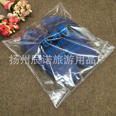 酒店一次性塑料拖鞋套已消毒包装袋 批发价满2万免费加印店标 红色