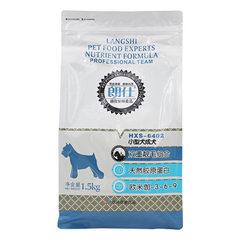 厂家批发朗仕小型犬成犬粮 补钙双重靓毛 泰迪贵宾粮无谷粮1.5kg 1.5kg/包