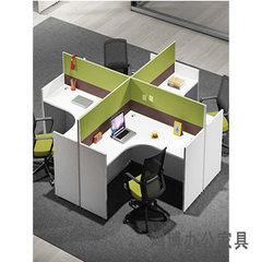 Office furniture desk simple modern screen working place staff desk combination One hundred kinds of optional 1200 * 1400