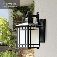 European-style retro waterproof modern wall lamp led outdoor villa wall lamp courtyard balcony porch 240 * 340
