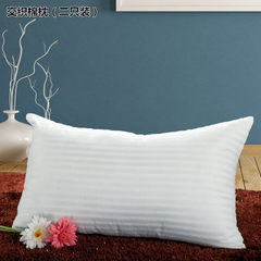 Nantong factory production wholesale bedding cotton pillow pillow core support a piece of hair can b Woven cotton pillow 40 * 70 cm