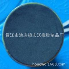 厂家直销 时尚男女士便携保温水杯自粘脚垫 黑色圆形单面胶杯垫 黑色 圆形