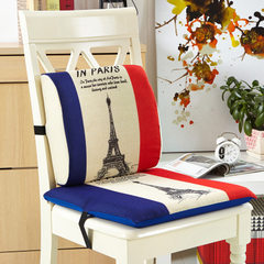 Home waist by the automotive gift flax memory cotton cushion cover manufacturers creative home texti Eiffel Tower The waist by