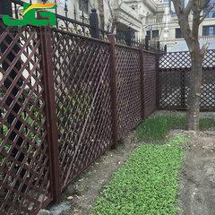户外庭院花园防腐木实木栅栏篱笆田园木围栏网格网片隔断可定做 100*100cm