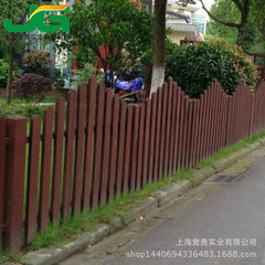 Factory customized anti-corrosion wooden fence outdoor wooden fence courtyard fence park riverside g 100 * 100 cm