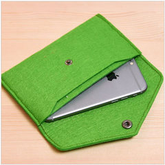 Manufacturers direct selling hot felt mobile bag handbag purse elegant fashion felt bag can be custo Any color can be customized