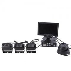 7-inch hd vehicle recorder 24V vehicle four-way monitoring vehicle black box vehicle monitoring vehi ZYR360