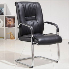 Foshan factory supply conference chair fashion staff computer chair leather bow office chair compute As shown in figure