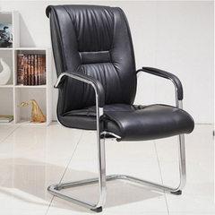 佛山厂家供应会议椅 时尚职员电脑椅 皮质弓型办公椅电脑椅 如图