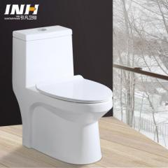 2018 new deluxe toilet with super swirl type household ceramic toilet seat water saving quiet toilet 300 pit distance PP cover plate