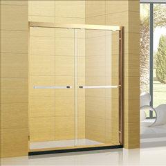 304不锈钢金色淋浴房 移门式简易整体淋浴房浴室 P-1006 非标定制