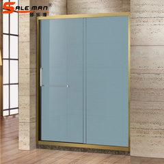 Factory direct sale stainless steel titanium shower room hotel bathroom shower room household shower SM - D02
