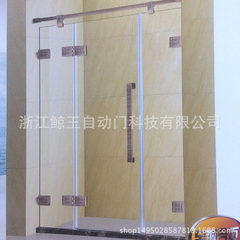 Manufacturer produces wholesale all copper laminated glass simple shower room support customization 1560 * 1950