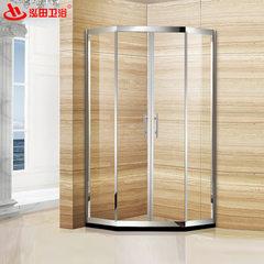 批发可定制酒店宾馆淋浴房 不锈钢简易浴室 家用钢化玻璃沐浴房 8mm
