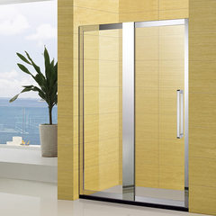 Manufacturer custom-made wholesale whole shower room guesthouse home installed glass partition 304 s 8 mm