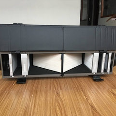 古德沃特GODVOTE GVA50E家用商用空气净化器 PM2.5过滤新风系统 深灰色