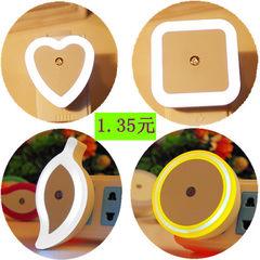 LED感应灯 新奇特地摊热卖 创意产品插电节能光控小夜灯 厂家批发 0.8