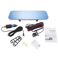 4.3寸高清行车记录仪倒车泊车辅助倒车影像系统 防眩目蓝屏 双录 X60S+