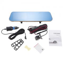 4.3-inch hd vehicle recorder, parking assistance, reverse image system, anti-glare blue screen dual  X60S +