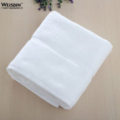 New style hotel high-end cotton towel hotel supplies white off-grade towel custom LOGO wholesale white Bath towel, 70 * 70 cm