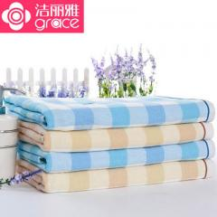 Jellia zhengpin wholesale bath towel pure cotton gauze baby bath towel children`s baby bath towel al blue 140 * 70