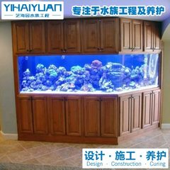 | undertakes the design and manufacture of aquarium design and customization of Shanghai aquarium custom