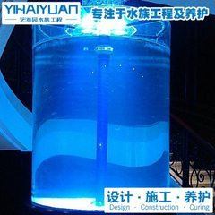 Accept | acrylic fish tank Shanghai large acrylic fish tank manufacturer | sea garden professional a custom