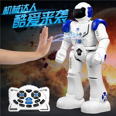 Robocop 9930 remote-controlled intelligent robot gesture sensing programming rechargeable children`s red