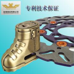 Manufacturer wholesale mountain bicycle disc brake lock bicycle safety lock motorcycle motorcycle lo 63 * 55.5