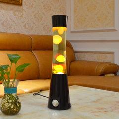 Bluetooth sound small night light thermal wax lamp small waist 13 inch bedroom lamp sound plug elect black
