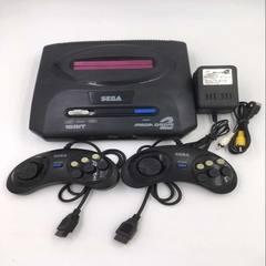 Home video game console nostalgia 16 - bit old - style plug-in fc red - white machine video game con black