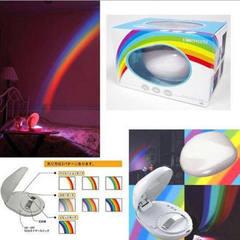 Rainbow projector generation rainbow projection lamp LED rainbow night light rainbow projection lamp 5