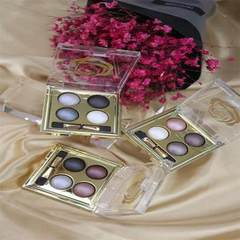 Factory direct sale lidan luge gold dynamic baking powder eyeshadow to make smoke fume makeup KAN a  1 # 0.5 g * 4