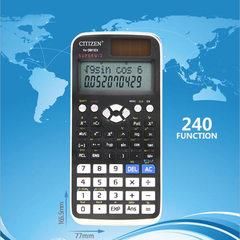 GTTTZEN function scientific calculator student junior high school test 240 function fx-991ex Semi-functional black and white