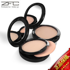 ZFC silky dry wet dual purpose powder cake moisturizing concealer fixed makeup foundation powder cak A04 dark complexion (random hair with new and old packaging)