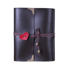 Manufacturer customized cover diy album genuine leather creative baby photo album handcrafted couple Dark blue