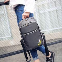 批发 帆布包男 双肩包女 中大学生书包 旅行背包 男女通用一件代 紫色