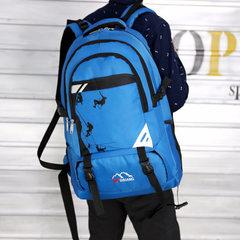 厂家直销新款时尚户外运动双肩包旅行休闲背包男士登山包网店代理 红色 56*334*17