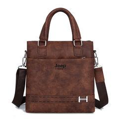Retail custom LOGO men upright tablet PC with shoulder slanting backpack official documents exhibiti khaki
