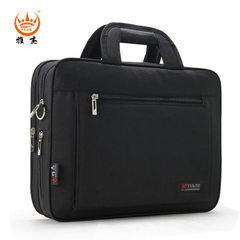 Men`s business briefcase large capacity computer bag with one shoulder slanted portable document bag 990