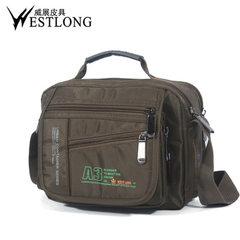 Spot wholesale 3720 multifunctional waterproof shoulder bag leisure outdoor oblique messenger bag me black
