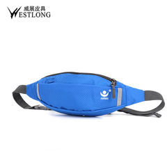 Spot wholesale 3802 men and women fashion leisure Fanny pack outdoor sports waterproof bag gift bag  red