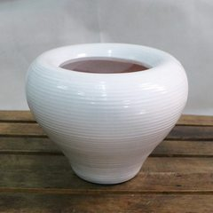 [ceramic flowerpot] wholesale ceramic flowerpot fashion creative gardening ceramic potted landscape  Height: 13.5cm * mouth: 13CM* belly width: 22CM