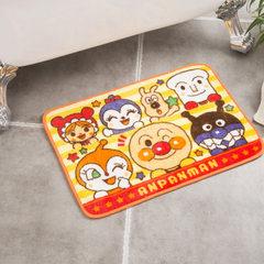 可来图定做卡通面包超人印花垫防滑垫门垫卧室厨房浴室地垫现货 黄色(黄边) 450*650mm