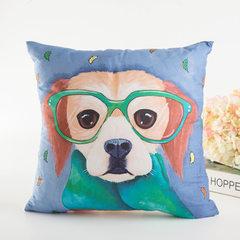 【两件包邮】新款抱枕腰靠枕套卡通儿童枕创意汽车垫含芯厂家批发 1 40*40cm