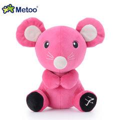 Metoo咪免12生肖公仔 动物毛绒玩具儿童游乐园娃娃机抓机公仔20CM 子鼠 7寸